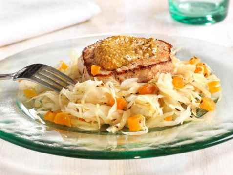 Prøv også Svinebiff med sennep og kål.