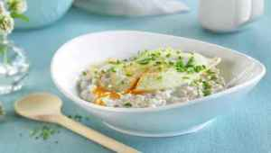 Prøv også Byggrynsgrøt med stekt egg.