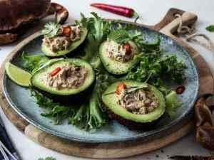 Prøv også Krabbesalat i avokado.