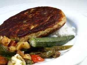 Prøv også Fiskeburger på okra og grønnsaksseng.