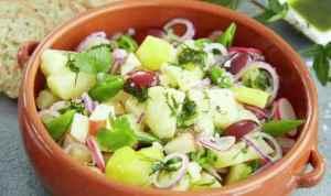 Prøv også Potetsalat med sukkererter og reddik.