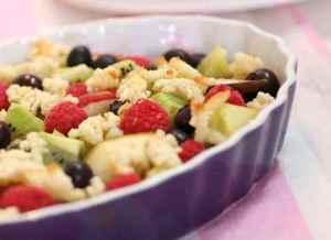 Prøv også Lun fruktsalat med marsipan.