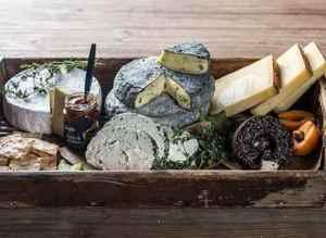 Prøv også Ostefat med milde oster.