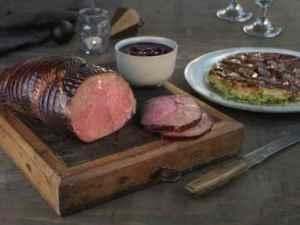 Prøv også Reinsdyrstek med tarte tatin og kirsebærsaus.