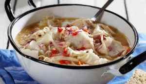 Prøv også Asiatisk fiskegryte med torsk og nudler.