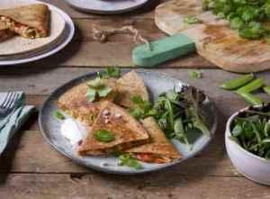 Prøv også Quesadillas med grillet kylling.