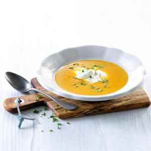 Prøv også Appelsin, ingefær og gulrotsuppe.