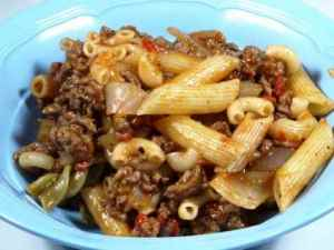 Try also Amerikansk chop suey.