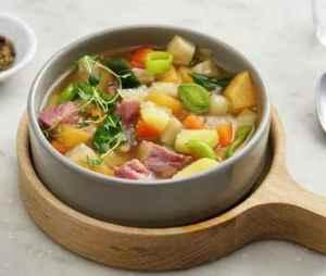 Prøv også Betasuppe med svineknoke.