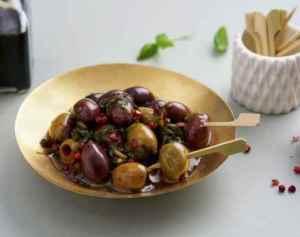 Prøv også Marinerte oliven som snacks.