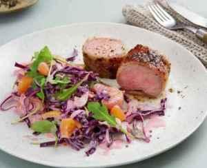 Prøv også Svin indrefilet med bacon og appelsinmarmelade.