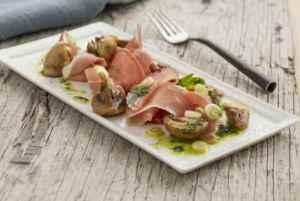Prøv også Spekeskinke med sopp og persilleolje.