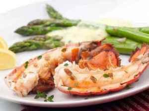 Prøv også Hummer med asparges og creme fraiche.