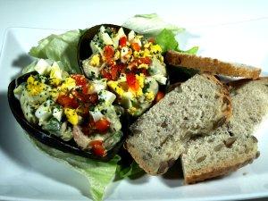 Prøv også Avokado med tunfiskfyll.