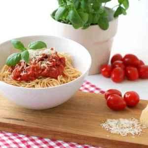 Prøv også Proteinpasta med tomatsaus.