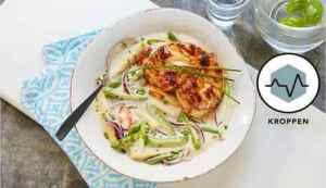 Prøv også Marinert breiflabb i spicy kokossuppe.