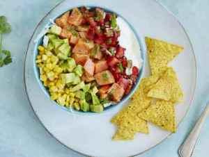 Prøv også Taco poke med laks.