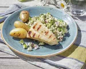 Prøv også Grillet klippfisk med brokkolisalat.