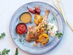 Prøv også Grillede kyllinglår med coleslaw.