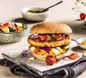 Prøv også Baconburger med gresk salat.