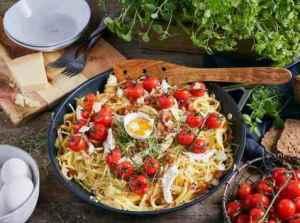 Prøv også Pasta Carbonara med nygrillet kylling.