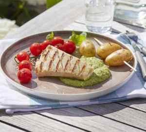 Prøv også Grillet klippfisk med erterpuré.