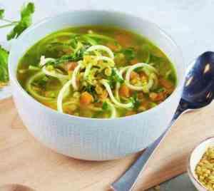Prøv også Linsesuppe med squashspagetti.