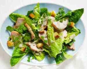 Prøv også Cæsarsalat med røkt kylling.