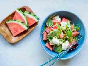 Prøv også Salat med vannmelon.
