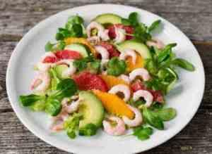 Prøv også Rekesalat med sitrus og avokado.