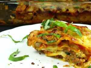 Prøv også Hjemmelaget 50/50 lasagne.