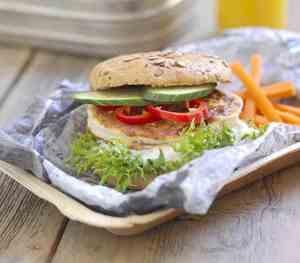 Prøv også Sandwich med fiskekake.