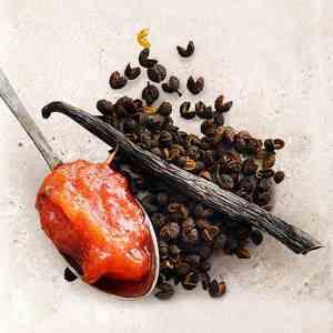 Prøv også Rabarbra, vanilje og timutpeppersyltetøy.