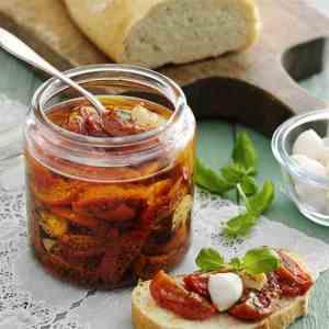 Prøv også Halvtørkede tomater.