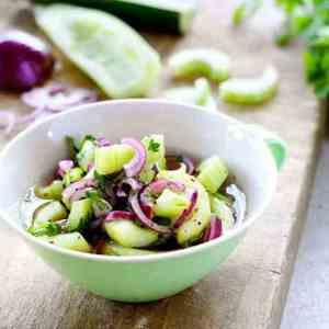 Prøv også Marinert agurk.