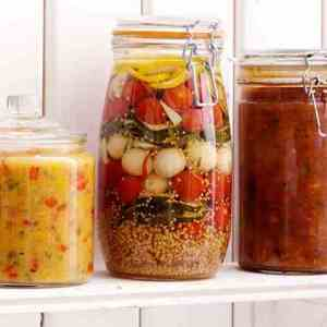 Prøv også Syltede grønnsaker.
