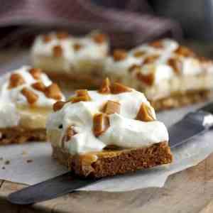 Prøv også Banan karamell kake.
