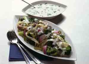Prøv også Tagliatelle med grønn stuing.