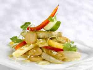 Dagens oppskrift er Gul wok med indisk vri.