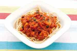 Prøv også Spagetti bolognese.