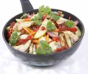 Prøv også Epler i wok.