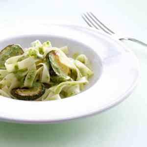 Prøv også Båndspagetti med ruccolapesto.