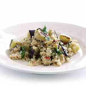 Prøv også Couscous med glaserte auberginer.