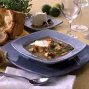 Prøv også Fiskesuppe med hvitløksaioli.
