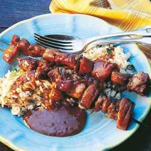 Prøv også Grillet indrefilet av svin med kryddersaus.