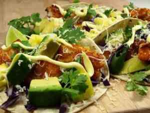 Dagens oppskrift er Langetaco med avocado.