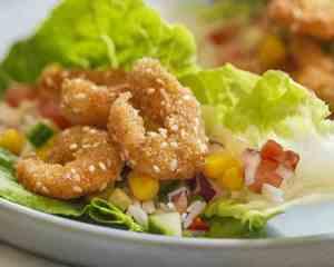 Prøv også Crispy reker i hjertesalat med salsa.