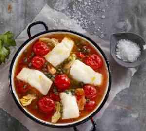 Prøv også Skrei med smak av middelhavet.