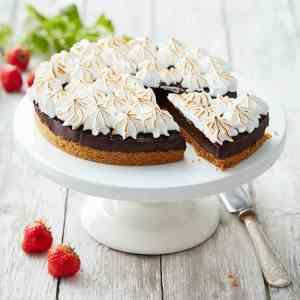 Prøv også Sjokoladepai med italiensk marengs.