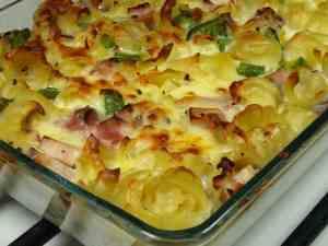 Prøv også Makaroni og ost i stekeovnen.